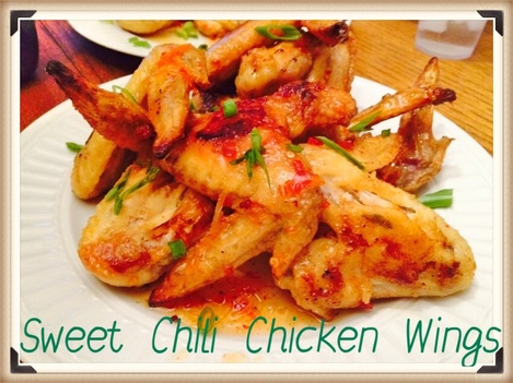 Sweet Chili Chicken Wings | Cruzin' Thru